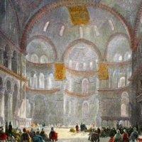 Картина художника одной из мечетей Османского Халифата